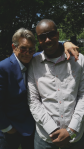 AL McFOSTER on set with Eric Roberts