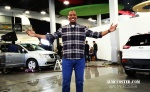 "AL McFOSTER on set at the Dodge/Chrysler ""The Big Holiday Cash Event"" commercial"
